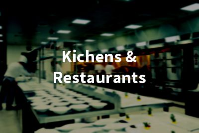 Kitchens and restaurants