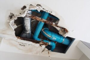 Fixing plumbing leaks to control them